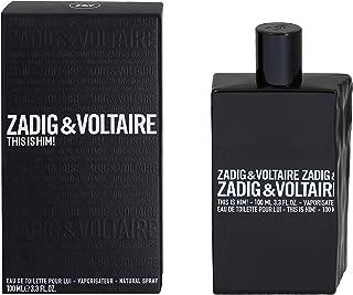 This is Him Zadig & Voltaire for men Eau de toilette 3.3 ounce
