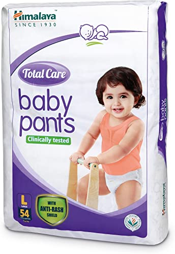 Himalaya Total Care Baby Pants Diapers Large 54 Count