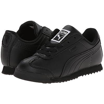 Puma Kids Roma Basic Kids (Toddler/Little Kid/Big Kid) (Black/Black) Boys Shoes