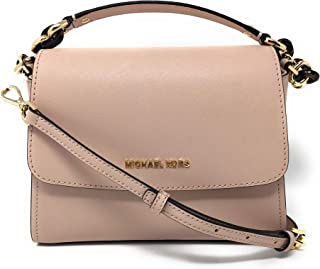 Michael Kors Sofia Small East West Saffiano Leather Satchel Crossbody Bag