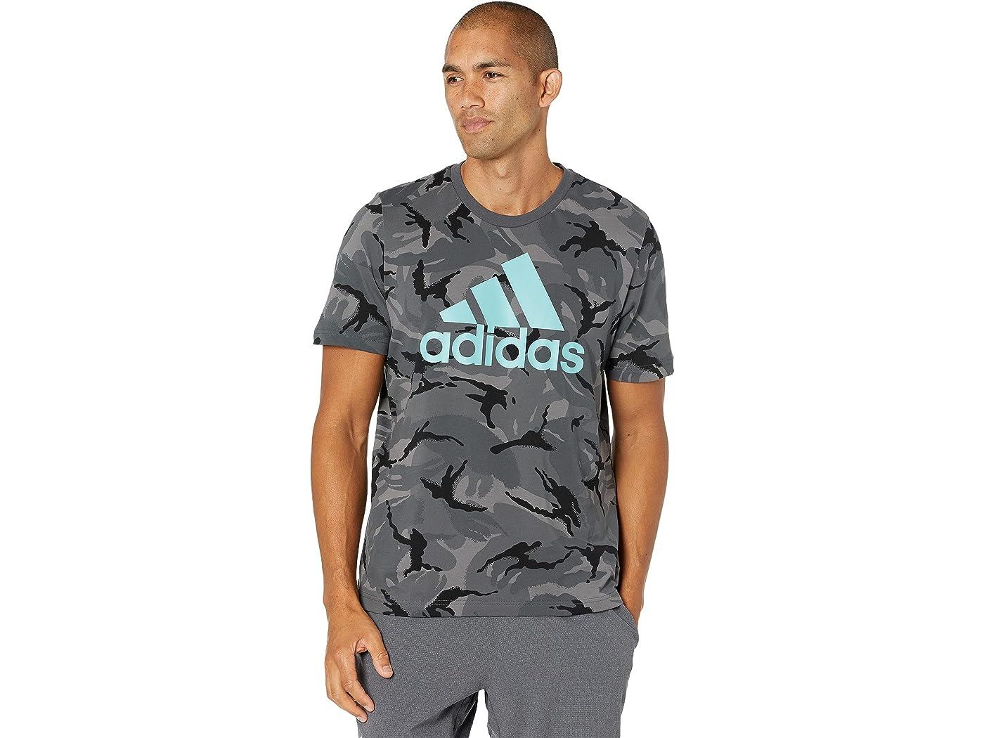 Adidas Camo All Over Print Tee