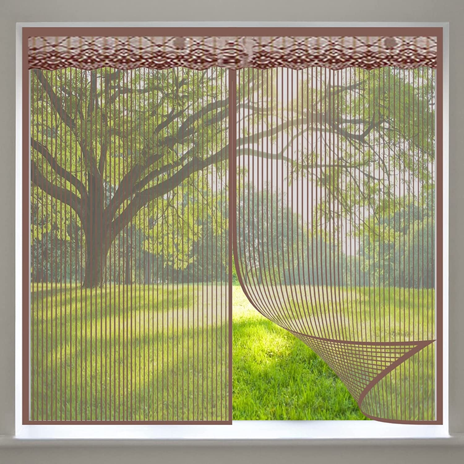 COUEO Magnetic Window We OFFer at cheap prices Fly Screen supreme 120x125cm Super 47x49inch Stro