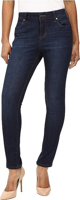 Petite Abby Skinny Jeans in Corvus Dark Indigo