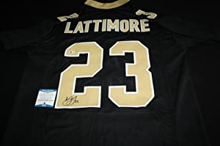 Marshon Lattimore Signed Jersey - Ohio State Beckett BAS - Beckett Authentication - Autographed NFL Jerseys