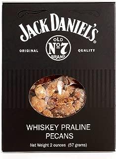 Jack Daniel's Praline Pecans 2 oz each (4 Items Per Order)