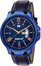 Redux Blue Dial Day and Date Functioning Men's Watch RWS0243S
