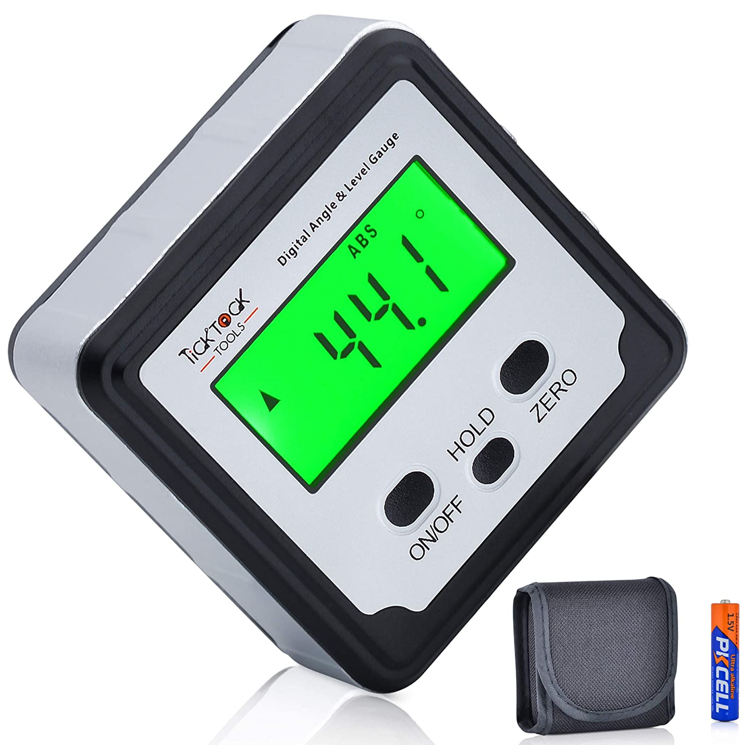 Digital Angle Finder Long Beach Mall by TickTockTools Level Mini - and Magnetic outlet