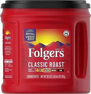 Best folgers classic roast medium ground coffee 30.5 oz Reviews