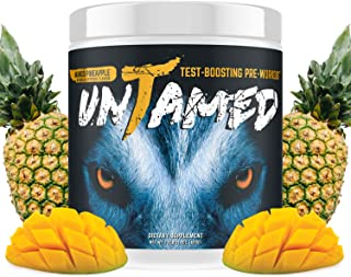 Complete Nutrition UnTamed Pre-Workout, Mango Pineapple, Testosterone Boosting, Increase Energy, Strength, & Endurance, 1....