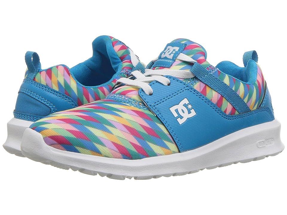 DC Kids Heathrow SP (Little Kid/Big Kid) (Blue Jewel) Girls Shoes