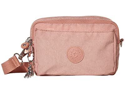 Kipling Abanu Multi Convertible Crossbody Bag (Galaxy Twist Pink) Handbags