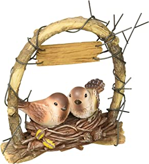 "Weddingstar Inc. 9386 Nest-Love Birds In Archway Cake Topper, 4 3/4"" x 6"" H"