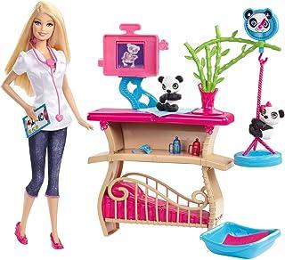 Mattel Barbie Careers Panda Caretaker Playset
