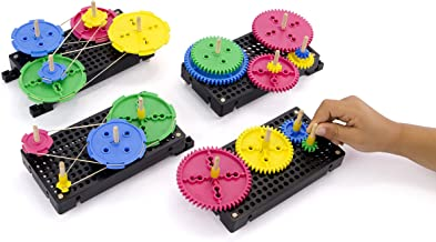 TeacherGeek Gears & Pulleys Tinker STEM | STEAM Activity Set