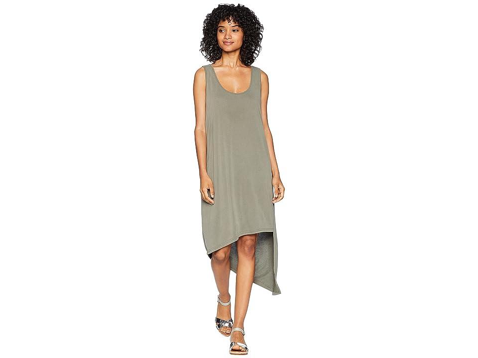 Splendid Sandwash Cross-Back Dress (Miltary Olive) Women