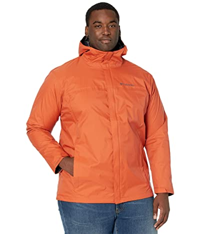 Columbia Big Tall Watertighttm II Jacket (Harvester/Shark) Men
