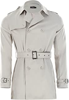 beige long coat mens