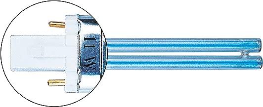 G23, 8000 h, 253,7 nm, 9 W, 16,5 cm, 400 g Heissner ZF409-00 9W G23 L/ámpara ultravioleta