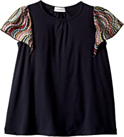 Missoni Kids Jersey Dress w/ Lace Trim (Toddler/Little Kids)