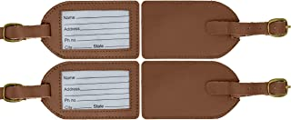 leather luggage tags canada