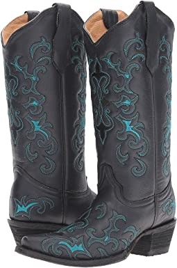 cf8709cb78f Light blue womens cowboy boots + FREE SHIPPING | Zappos.com