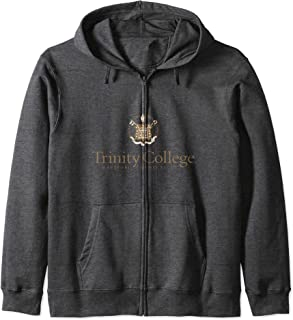 Trinity College Bantams NCAA PPTNC01 Zip Hoodie