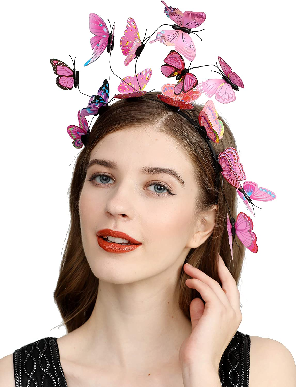 Butterfly Wings for Women Festival Japan Maker New Halloween Fair Max 53% OFF C Crown