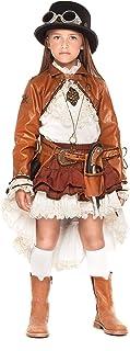 chiber Disfraces Disfraz de Viajera del Tiempo para Niña (Talla 10 (9-10 años))