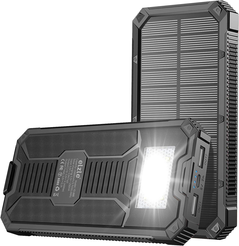 Portable Charger Power Bank Solar Elzle Brand Cheap Sale Venue Denver Mall 15000mAh