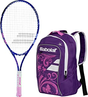 Babolat BFly Childs Tennis Racquet/Racket Starter Kit or Set Bundled with a