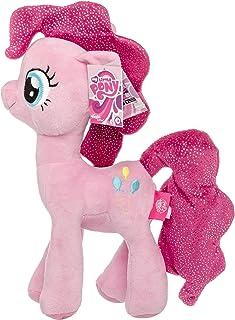 MLP My Little Pony Juguete Suave muñeco de Peluche con alas Brillantes y Melena Brillante 27 cm (Pinkie Pie)