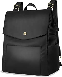 ALLCAMP Women Backpack Purse Waterproof Fashion Shoulder Bag Convertible Diaper Backpack/Messenger Bag