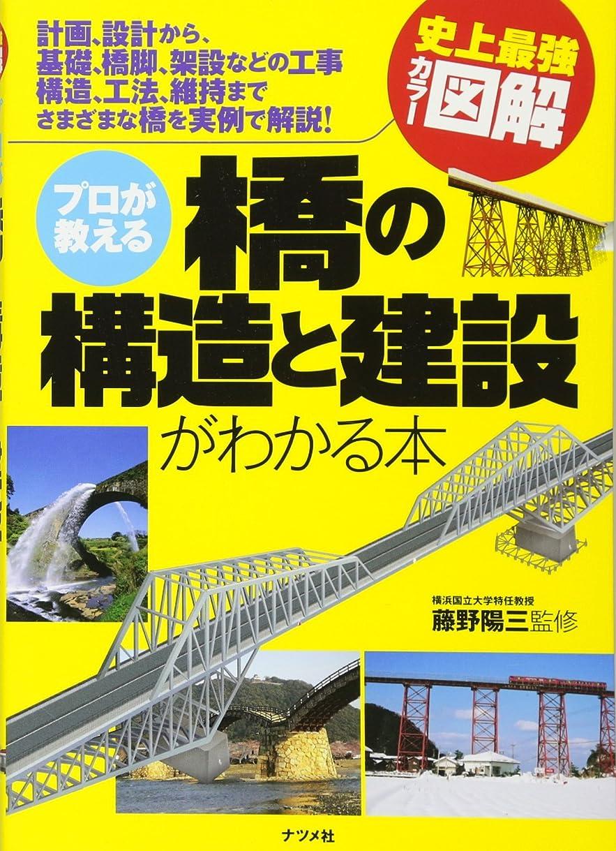 広大なタイムリーな計画プロが教える 橋の構造と建設がわかる本 (史上最強カラー図解)
