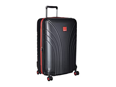 Hedgren Flight Medium Expandable Spinner 24 (Black/Red Combo) Luggage