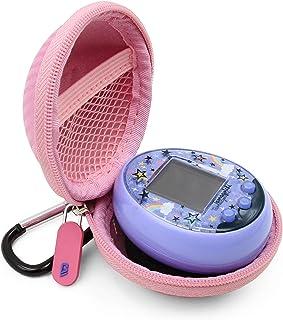 حقيبة حمل وردية اللون من كيسماتيكس متوافقة مع لعبة تماغوتشي للحيوانات الاليفة التفاعلية الافتراضية، تتضمن حقيبة صغيرة فقط