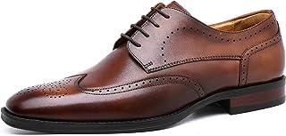 [フォクスセンス] ビジネスシューズ 革靴 メダリオン ドレスシューズ 本革 ウイングチップ 紳士靴 外羽根 メンズ