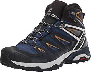 Salomon Botas de caminhada masculinas X Ultra 3 Mid GTX
