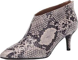 Aerosoles Women's Roxbury Ankle Boot, Natural Snake, 9.5 M US