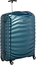Samsonite Lite-Shock Suitcase, 75 cm, 98.5 Liters, Petrol Blue