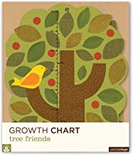 Petit Collage Folding Growth Chart, Tree Friends