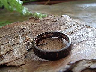 ⊹⊱❁ ANELLO DA UOMO ANELLO IN COCCO ANELLO IN COCCO ANELLO NATURALE ❁⊰⊹ Gioielli naturali, anello unico, prodotto naturale,...