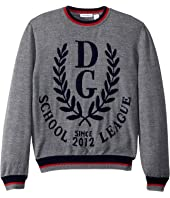 Dolce & Gabbana Kids - Jacquard Sweater (Big Kids)