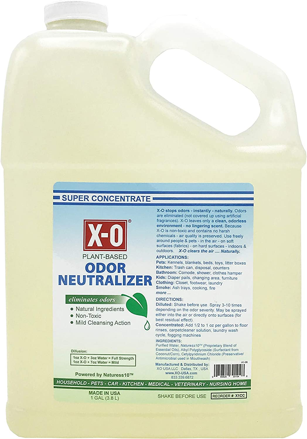 XO Plus Odor Neutralizer Cleaner Concentrated 1gallon 100% quality warranty Cheap mail order shopping 5g 32oz