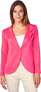 Best cerise pink blazer jacket Reviews