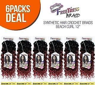 MULTI PACK DEALS! FreeTress Synthetic Hair Crochet Braids Beach Curl 12