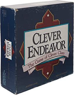 Clever Endeavor, the Game of Clever Clues; Master Game Deluxe Edition (1989)
