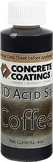 VIVID Acid Stain - 4oz - Coffee (Medium Brown With a Slight Red Hue)