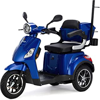 VELECO seniorenmobiel 3-wiel elektrische scooter DRACO (Blauw)