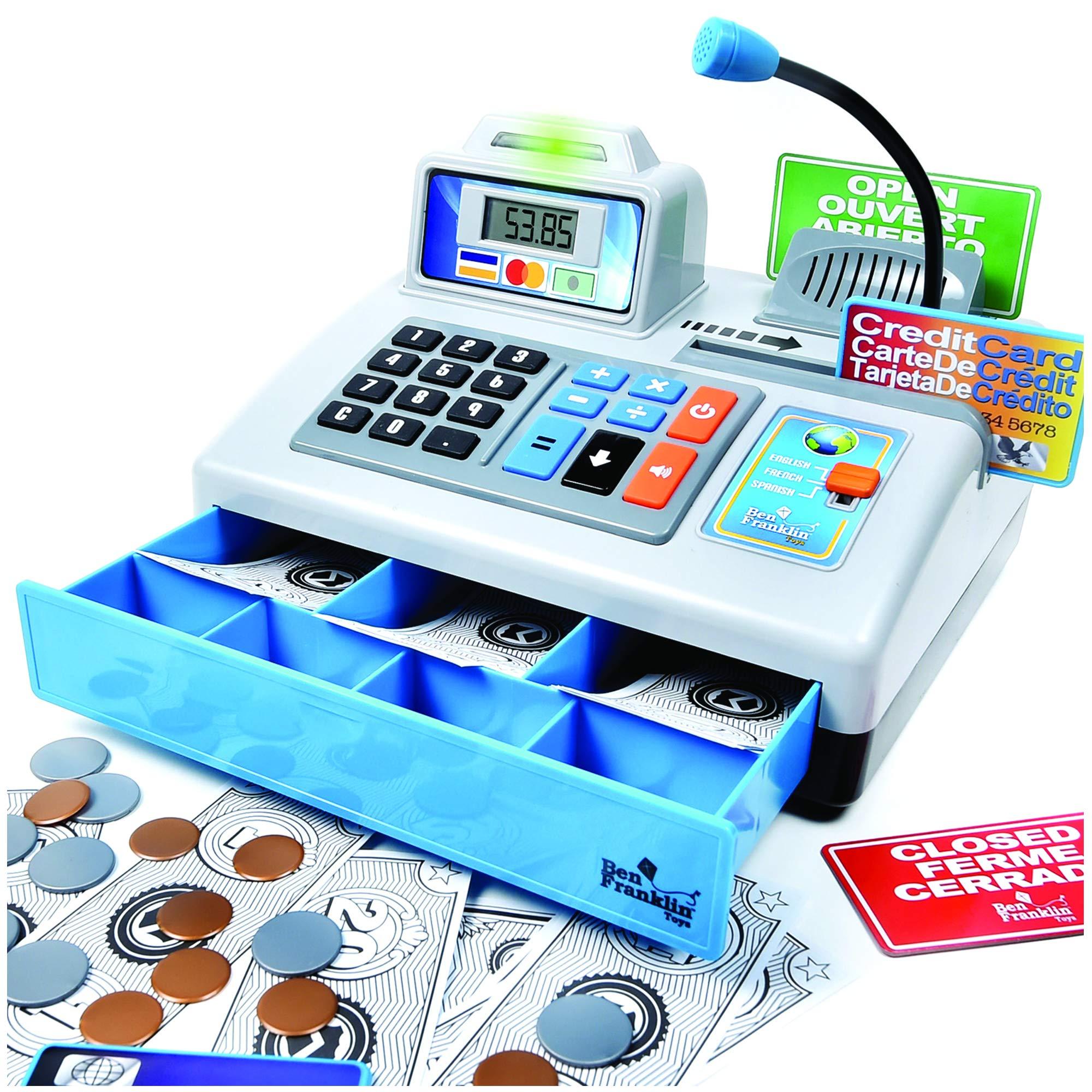 Ben Franklin Toys Talking Register