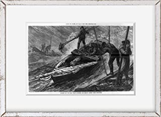 INFINITE PHOTOGRAPHS 1879 Photo: American Industries, Maryland   Gathering Oysters   Chesapeake Bay, Annapolis   Vintage P...